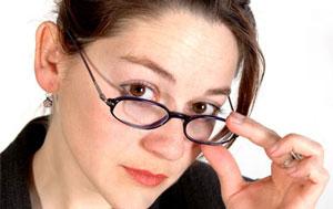 عینک, بیماریهای چشم,ضعیف شدن چشم