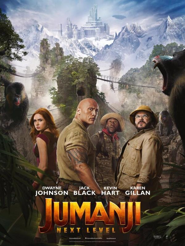 دانلود فیلم Jumanji The Next Level 2019 دوبله فارسی