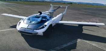 خودرويي که تبديل به هواپيما ميشود