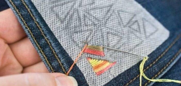 تزیین شلوار جین و پارچه ایی زنانه و بچگانه با روش های جالب و ارزان