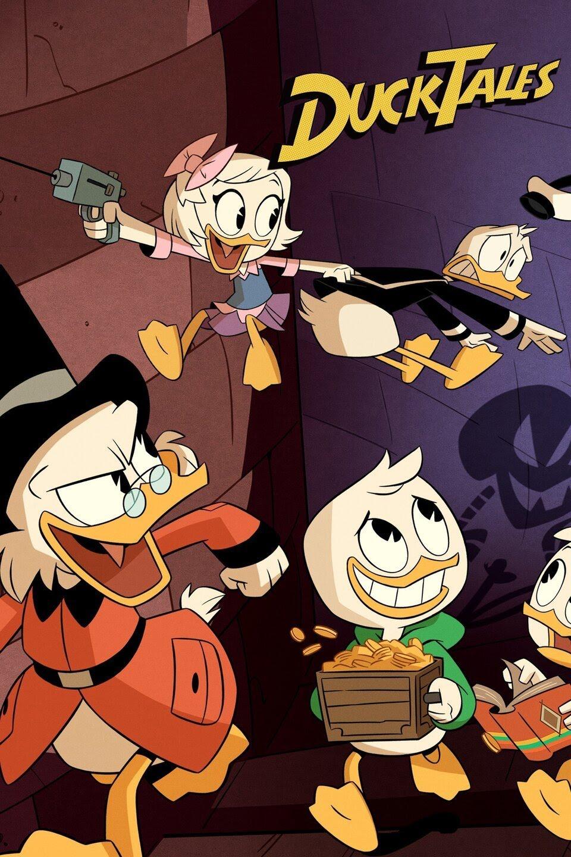 دانلود دوبله فارسی فصل اول انیمیشن ماجراهای داک DuckTales 2017