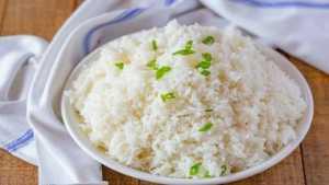 طرز تهيه برنج کته با روشي ساده