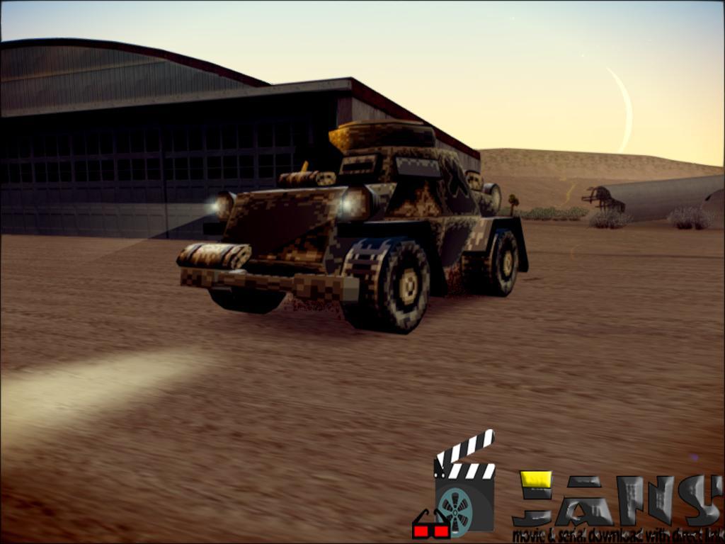 دانلود پک تانک از بازی metal Slug برای gta sa