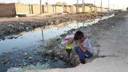 سرازير شدن فاضلاب به خياباني در مهرشهر