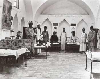 بيمارستاني در دوران ناصرالدين شاه