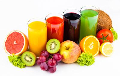خواص آبمیوه، گرفتن آب میوه