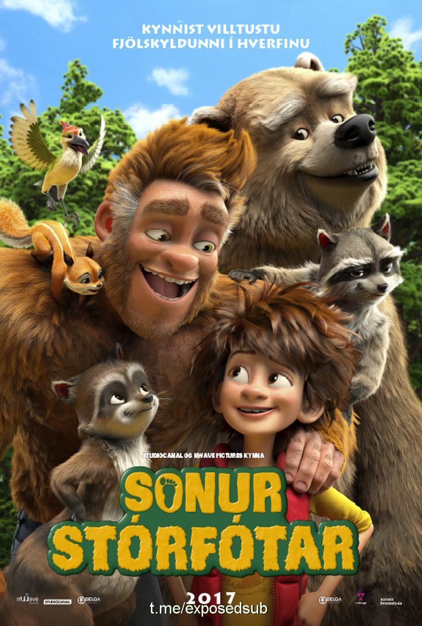 دانلود انیمیشن The Son of Bigfoot 2017 پسر پاگنده با دوبله فارسی(به همراه تریلر)