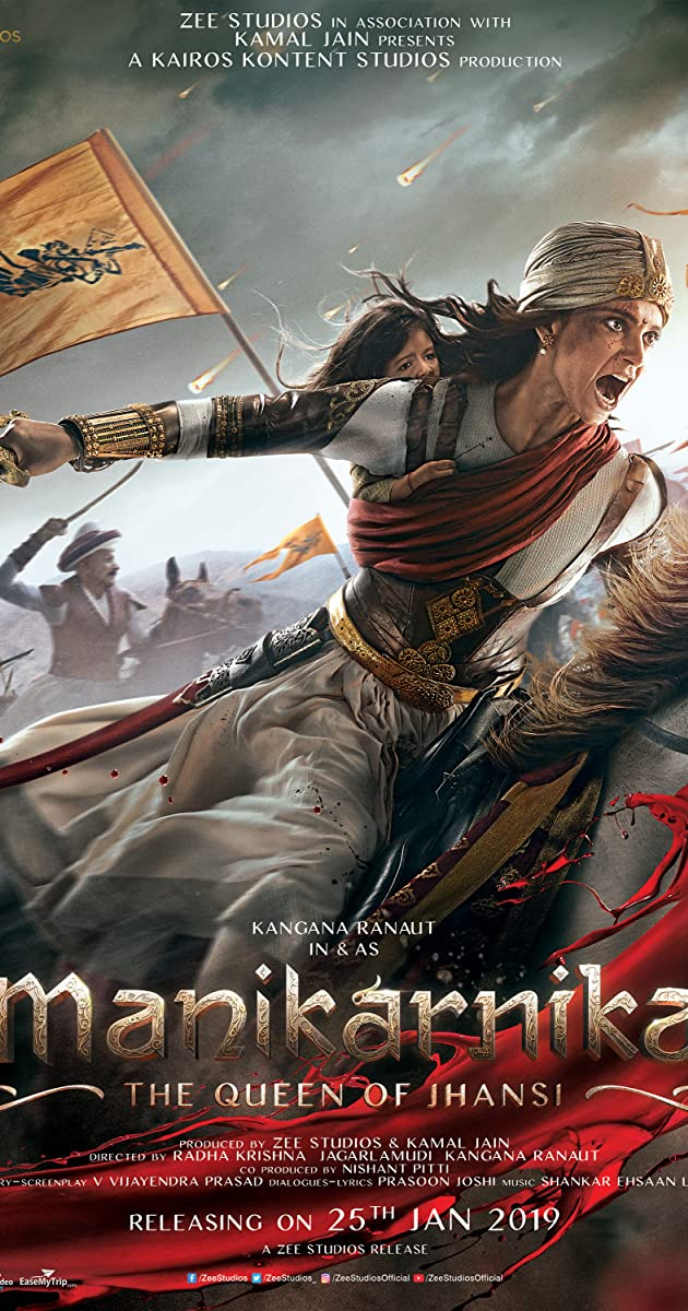 دانلود فیلم Manikarnika The Queen of Jhansi 2019