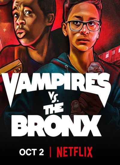 دانلود فیلم کمدی Vampires vs. the Bronx 2020 خون آشام های محله برانکس دوبله فارسی