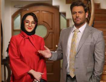 هانيه توسلي و محمد رضا گلزار در يک عکس