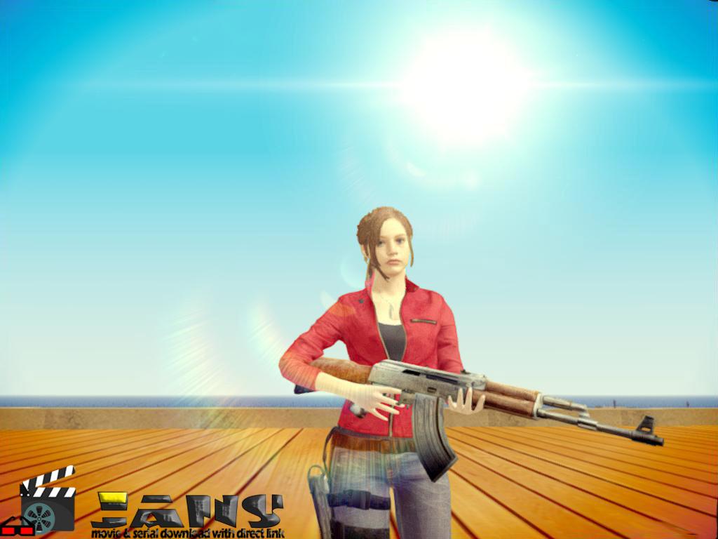 دانلود اسکین کلر ردفیلد از بازی رزیدنت ایول ریمیک 2 برای GTA SA