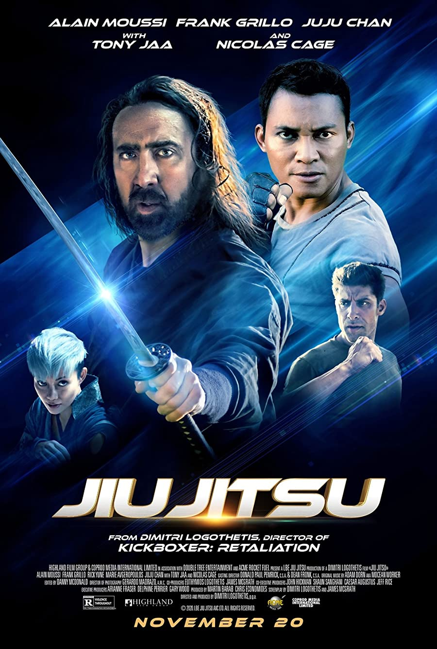 دانلود فیلم جیو جیتسو دوبله فارسی Jiu Jitsu 2020