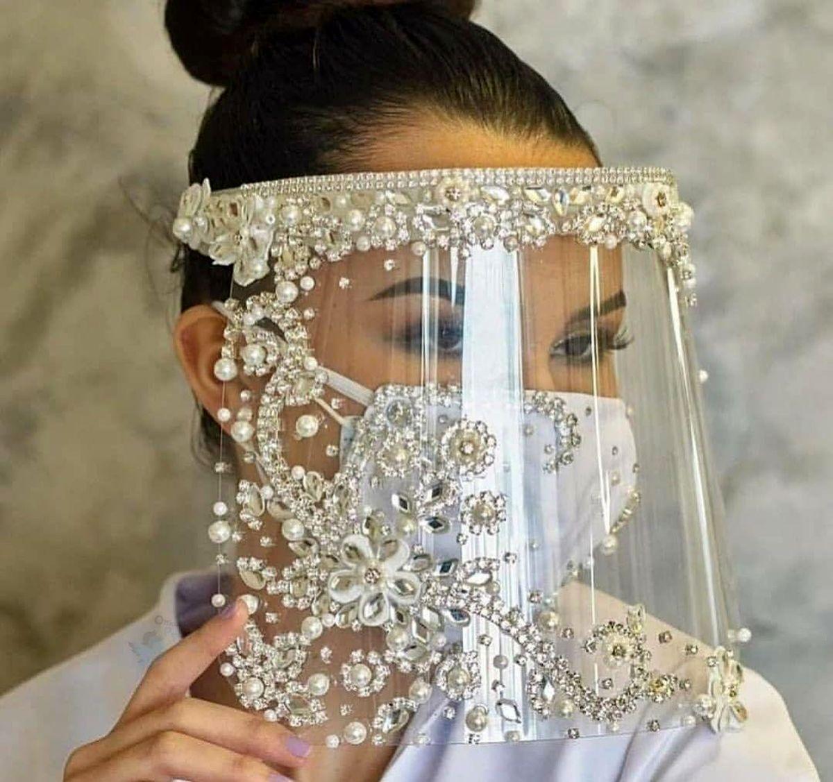 مدل ماسک عروس مجلسی