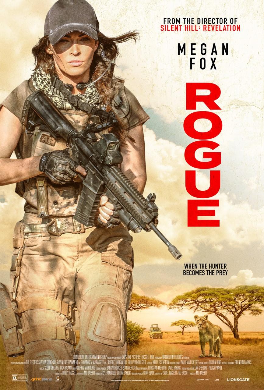 دانلود فیلم اکشن Rogue 2020 روگ (یاغی) دوبله فارسی