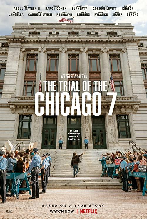دانلود فیلم تاریخی The Trial of the Chicago 7 2020 محاکمه 7 شیکاگویی دوبله فارسی