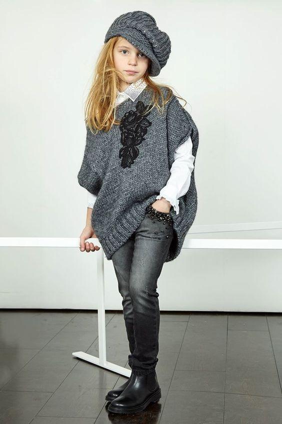 مدل لباس زمستانی دختر بچه
