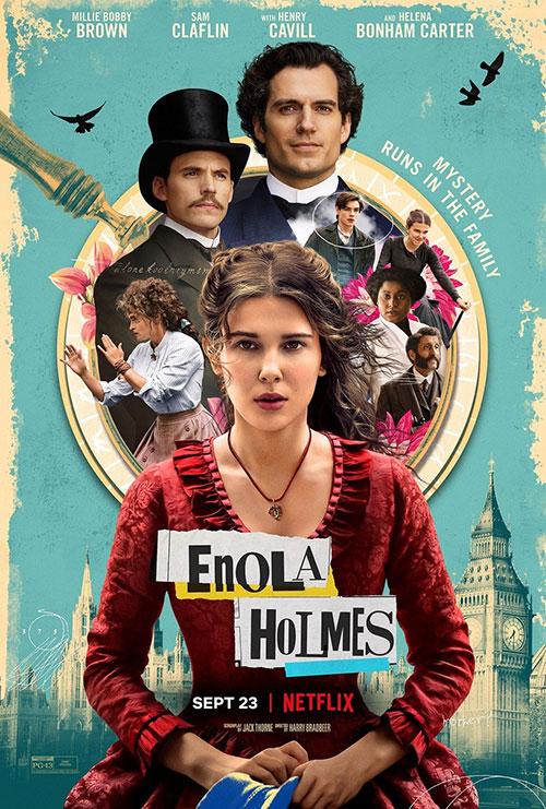دانلود فیلم جنایی Enola Holmes 2020 انولا هولمز دوبله فارسی