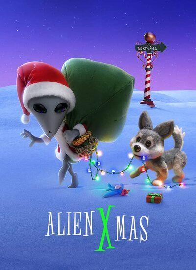 دانلود انیمیشن کریسمس بیگانه دوبله فارسی Alien Xmas 2020
