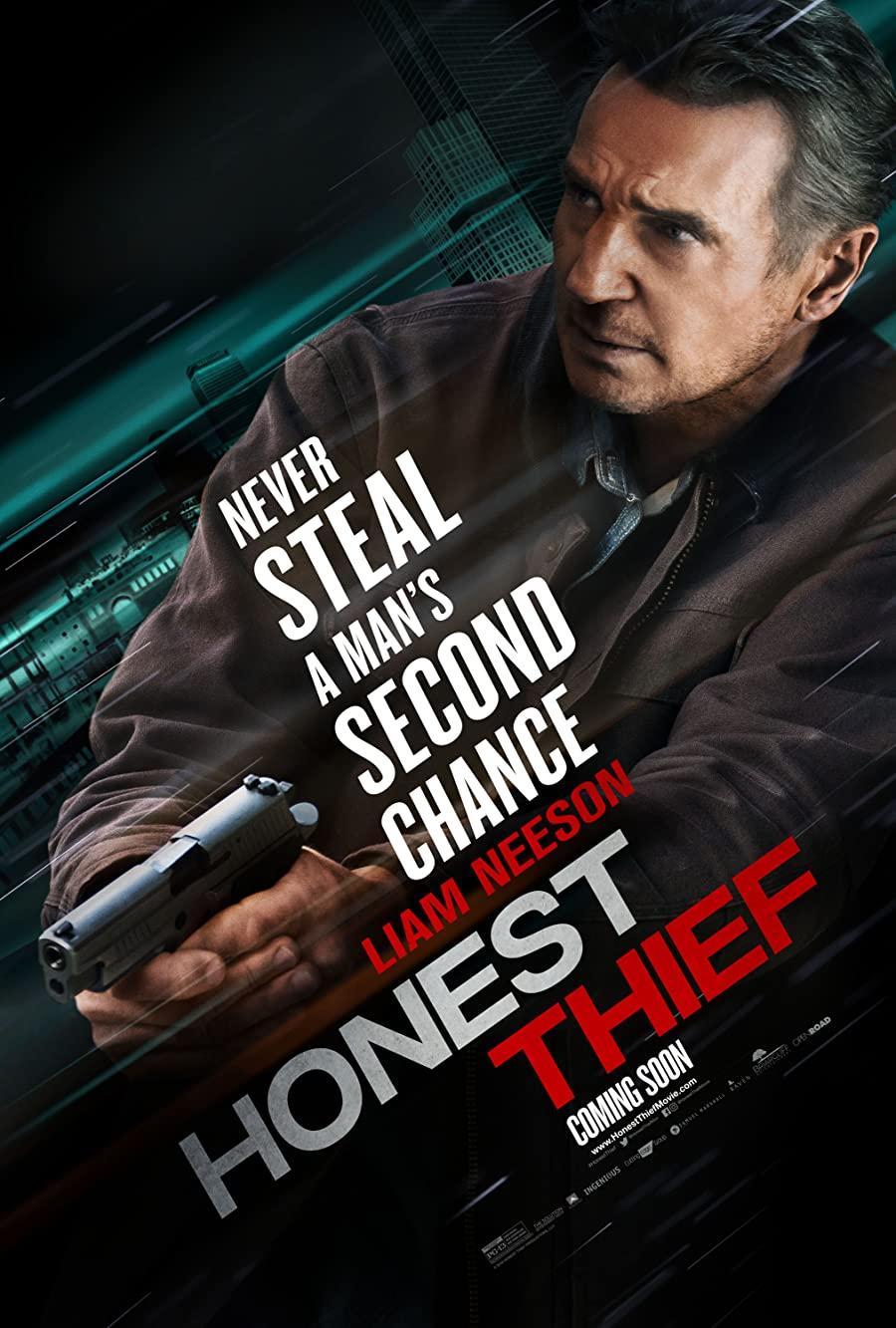 دانلود فیلم اکشن Honest Thief 2020 دزد صادق