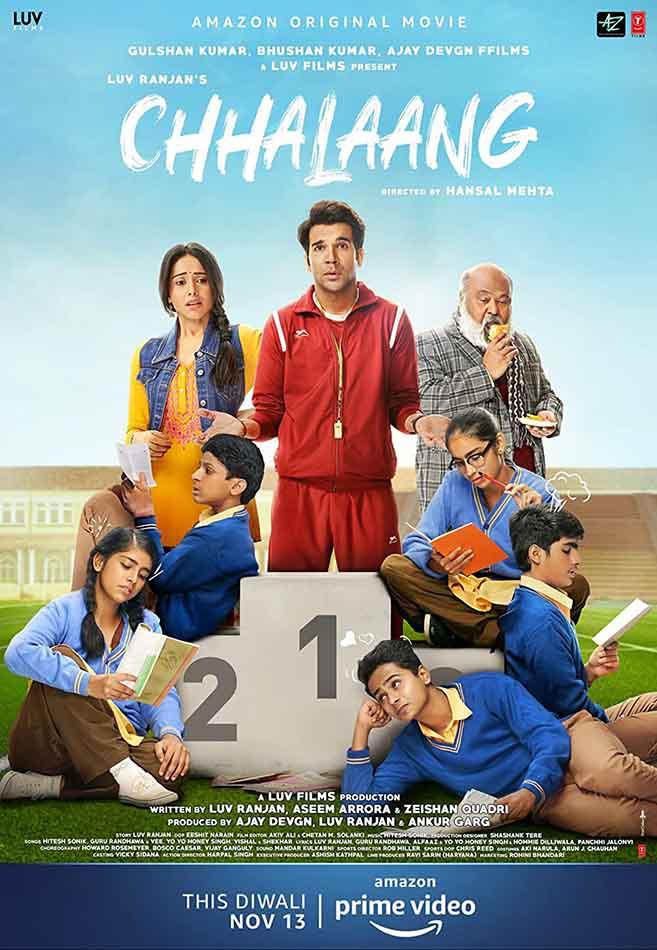 دانلود فیلم هندی Chhalaang 2020 پرش دوبله فارسی