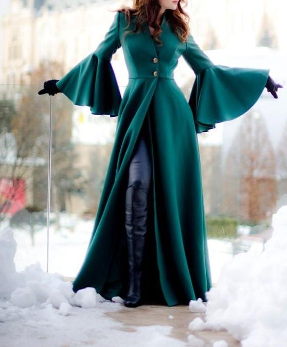 مدل پالتو بلند زنانه ترکیه ۲۰۲۰