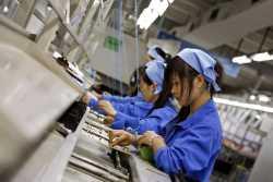 کمبود کارگر در چين