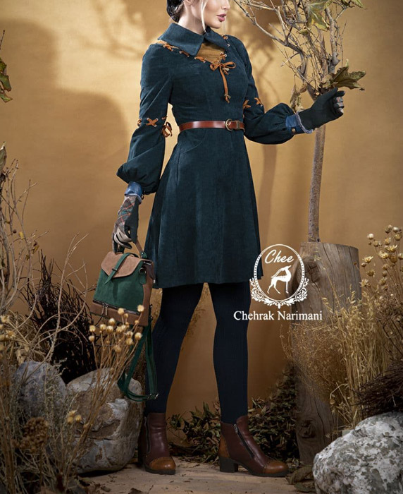 مدل مانتو زمستانه دخترانه شیک