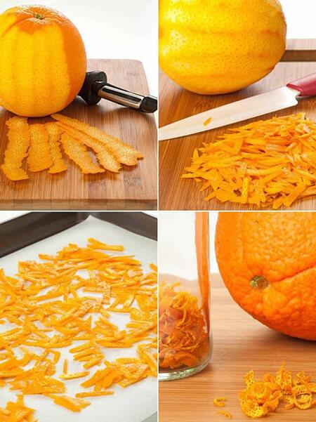 خلال پوست پرتقال