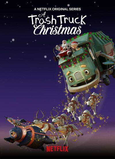 دانلود انیمیشن کریسمس یک کامیون زباله A Trash Truck Christmas 2020 با دوبله فارسی