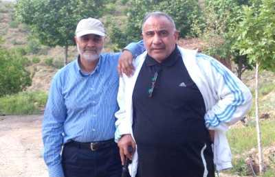 عکس ديده نشده از حاج قاسم در کنار عادل عبدالمهدي