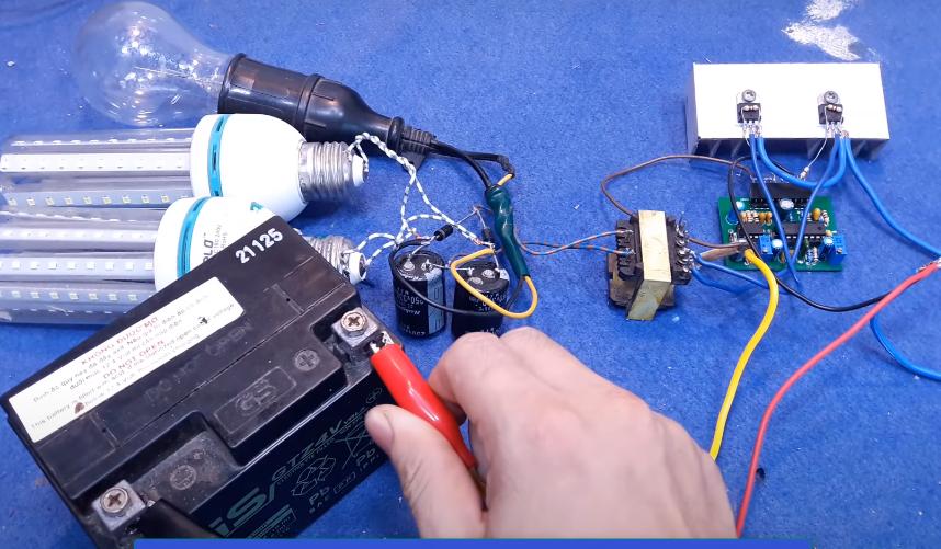 ساخت اینورتر 200 وات با ترانس پاور کامپیوتر