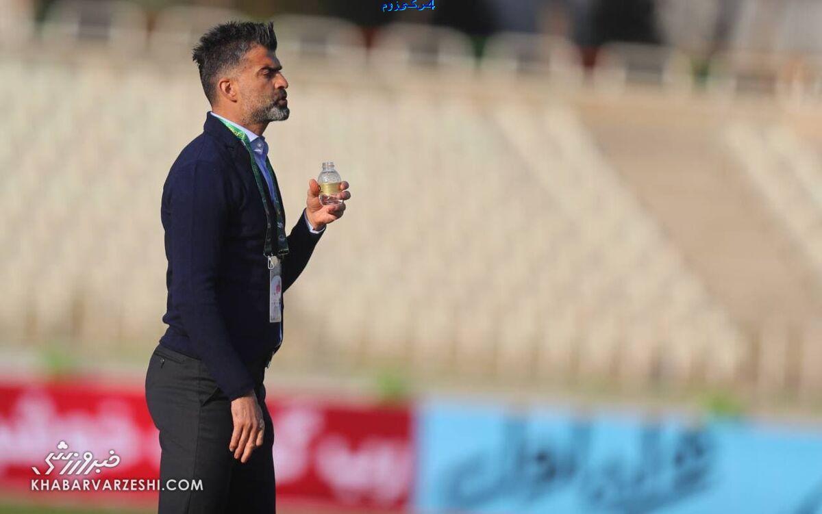 رجمان رضایی و حمله به  سخنگوی باشگاه