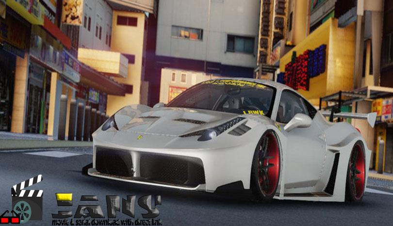 دانلود ماشین ferrari 458 silhouette برای بازی GTA SA