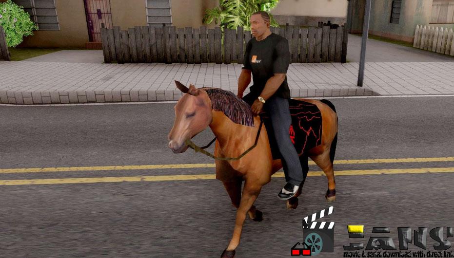 دانلود مود اسب برای gta sa