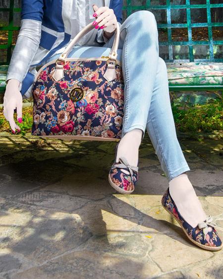ست کیف و کفش دخترانه