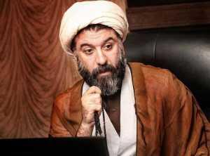 عکس مرحوم علي انصاريان با لباس روحاني