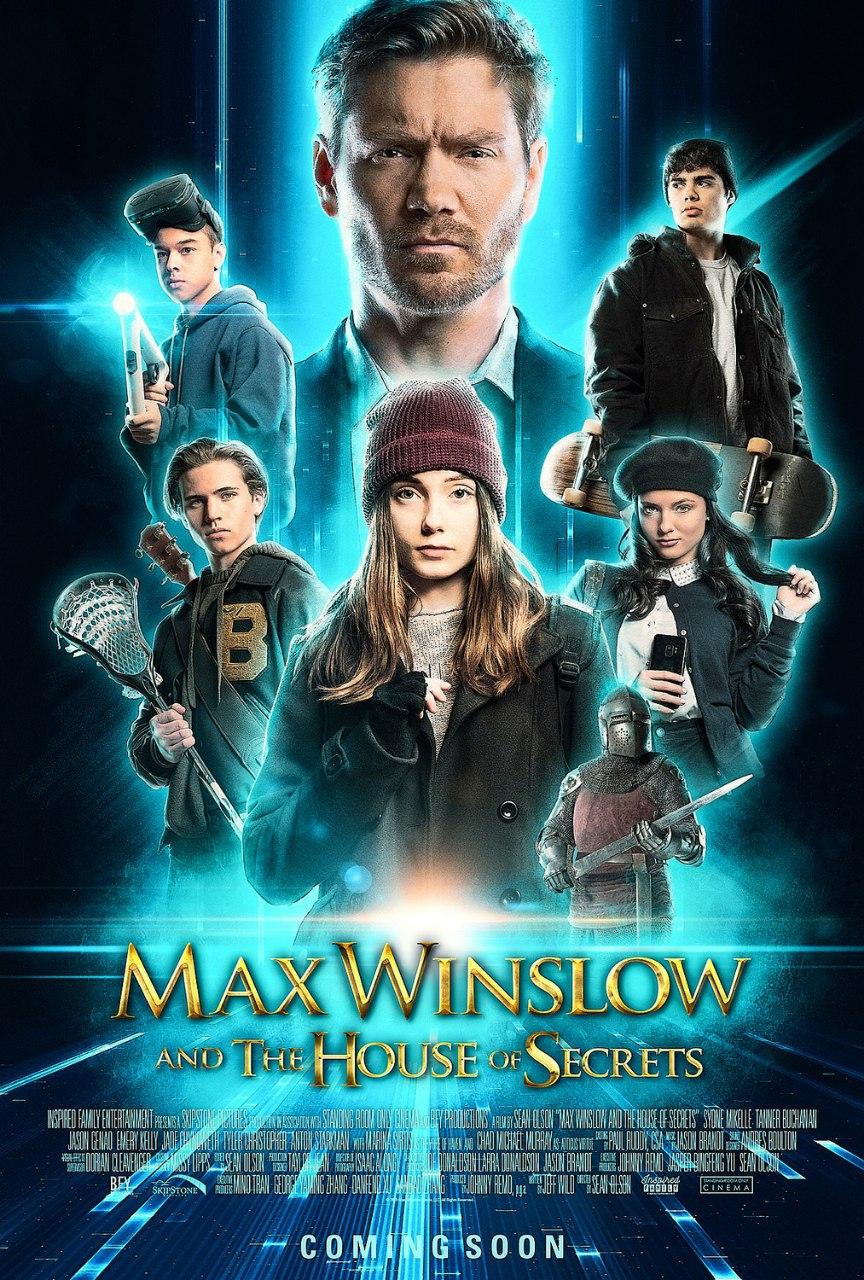 دانلود فیلم جدید مکس وینسلو و خانه اسرار |  Max Winslow and the House of Secrets 2019