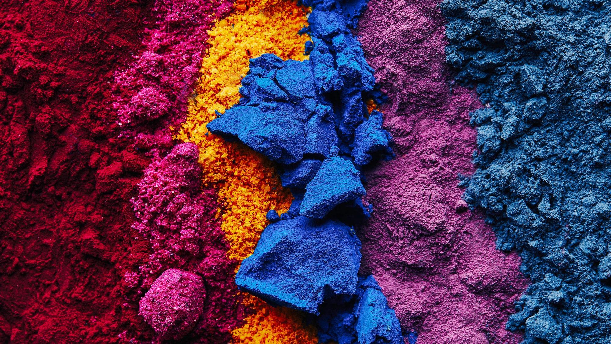 انواع رنگ های مورد استفاده در صنایع غذایی