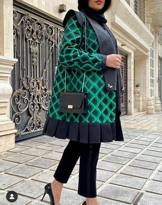 مدل مانتو عید ۹۹ در اینستاگرام