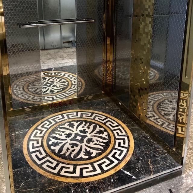 شیک ترین عکس های سنگ کف آسانسور