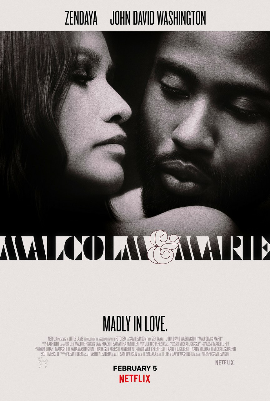 دانلود فیلم جدید   (Malcolm & Marie (2021 با زیرنویس فارسی چسبیده