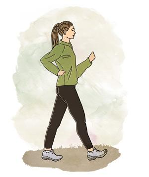فواید راه رفتن سریع برای سلامتی