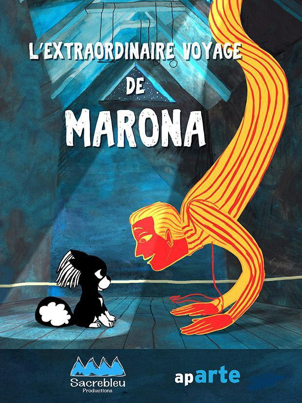 دانلودانیمیشن زیبا داستان فوق العاده مارونا Marona's Fantastic Tale 2019