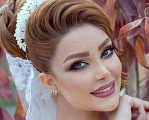 مدل آرايش عروس بسيار زيبا