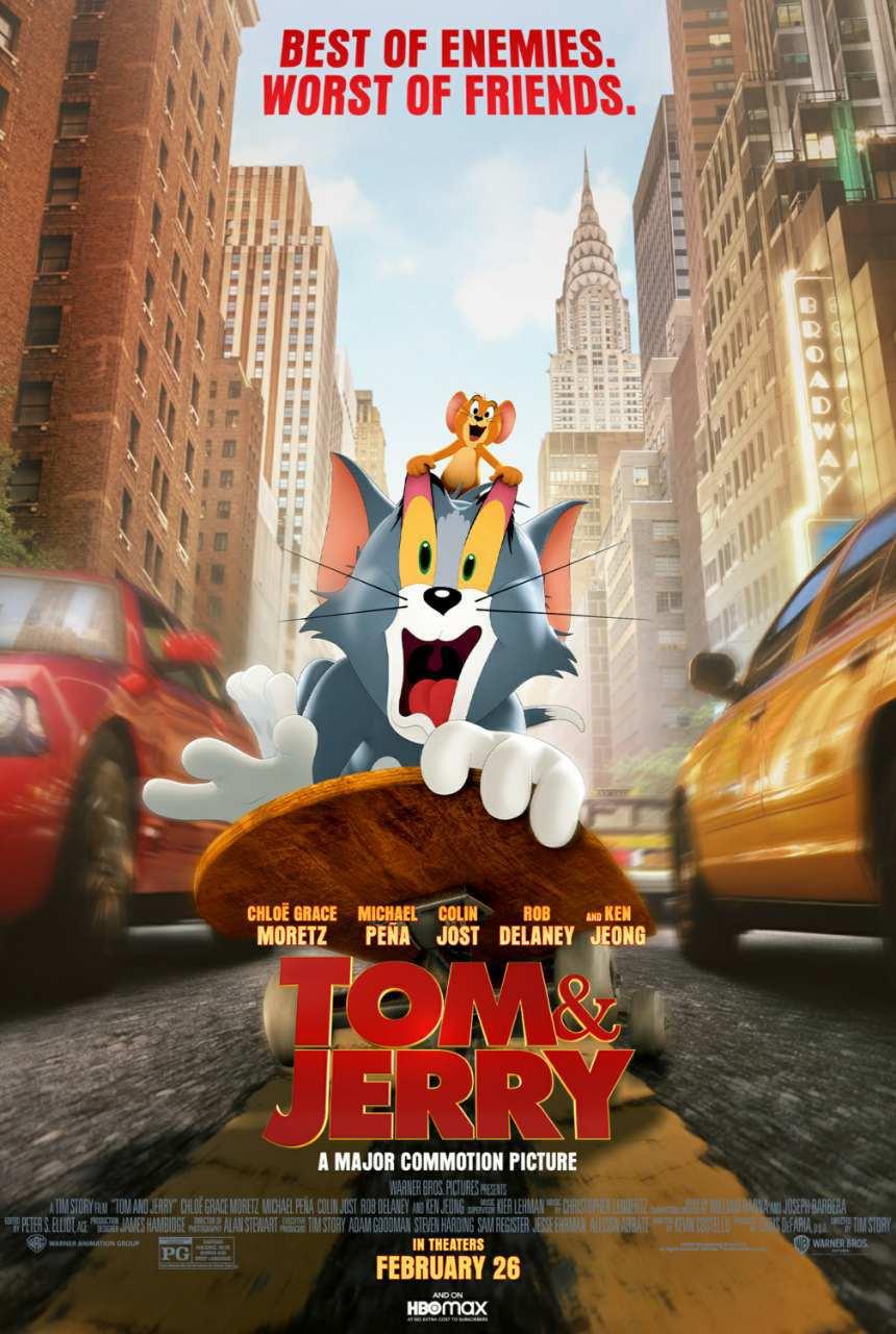 فیلم جدید تام و جری | Tom and Jerry 2021