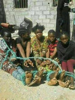 فروش زنان در ليبي