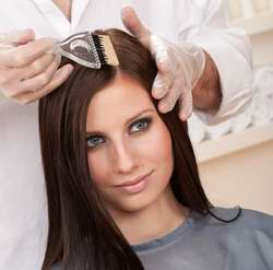 موهاي خود را قبل از رنگ کردن نشوييد