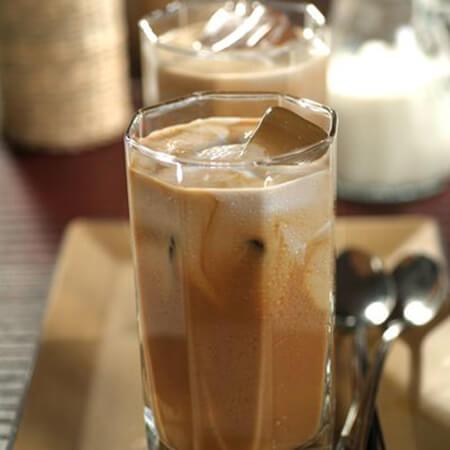 طرز تهیه قهوه یخی تایلندی