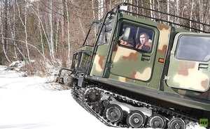 رئيس جمهور روسيه براي تفريح به جنگل هاي سيبري رفت