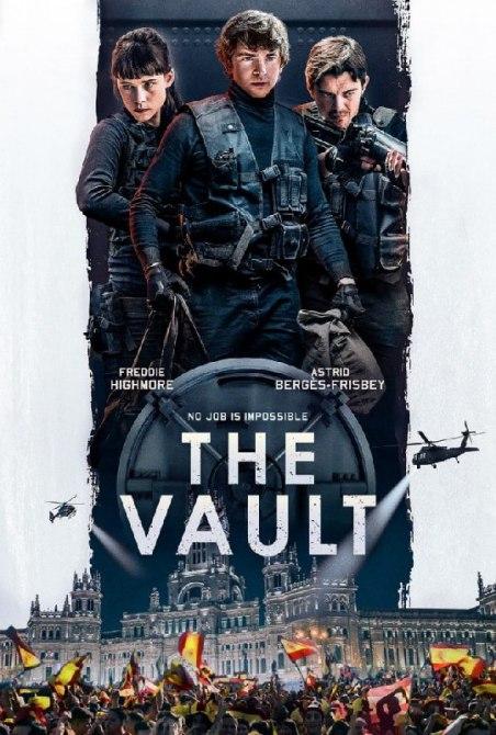 دانلود فیلم خزانه The Vault 2021 با دوبله فارسی